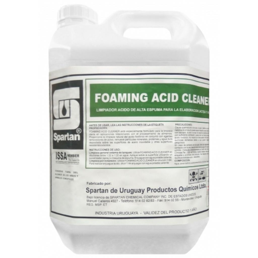 FOAMING ACID CLEANER