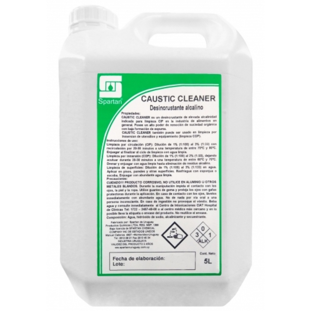 CAUSTIC CLEANER