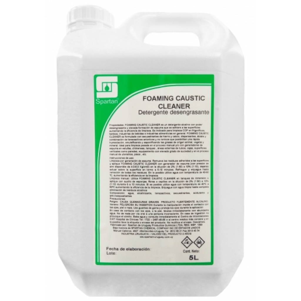 FOAMING CAUSTIC CLEANER