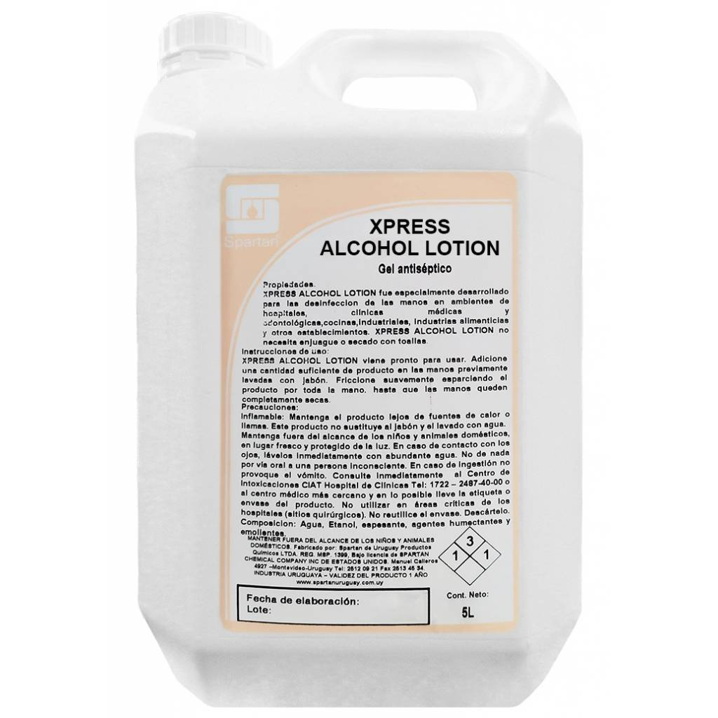 ALCOHOL LOTION